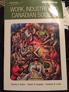 Work industry and Canadian Society seventh Addition