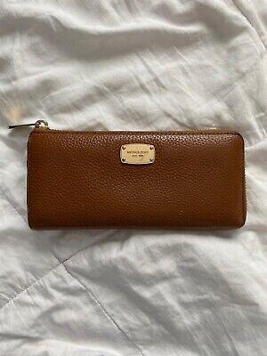 Michael Kors Leather Wallet - Brown