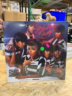 Janelle Monae - The Electric Lady 2 x LP - Vinyl Record  NEW SEALED  comprar usado  Enviando para Brazil