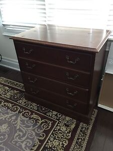 Hooker executive desk and credenza