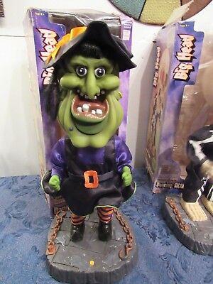 Gemmy Big Head Halloween Witch Animated Dancing 17