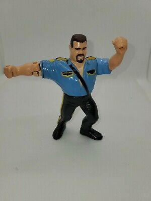 WWF Hasbro Series 3 Big Boss Man Action Works!! Titan Broken Arm