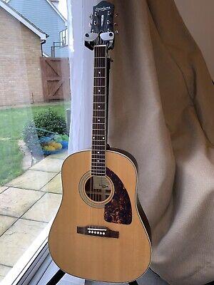 Epiphone Masterbilt AJ-500M Advanced Jumbo acoustic guitar in satin finish