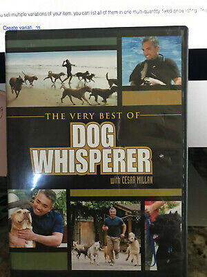The Very Best of Dog Whisperer with Cesar Millan 2008 New Factory Sealed