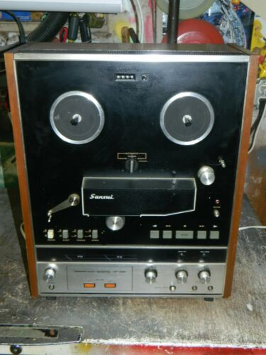 Vintage Sansui SD-7000 Reel to Reel Player with Power
