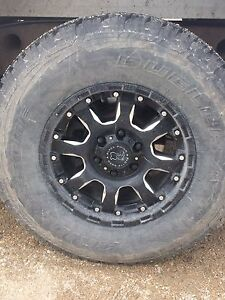 6bolt rims with tires like new
