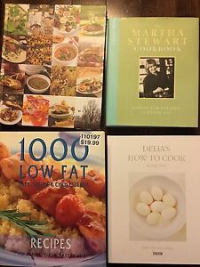 Cook books for sale (bundle)