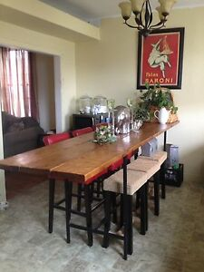 Bar Height Table/Seats up to 12 ppl
