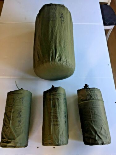 NEW FULL 4 PIECE SET GENUINE ISSUE MEDIUM ALICE PACK WATERPROOF PACK LINER  BAGS