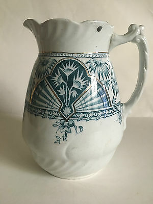 Ceramic Art Co. Victorian Christopher Dresser inspired design jug c.1885.
