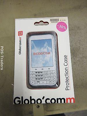 GloboComm Samsung B5330/Chat Mobile Phone Cover Case BLACK G2TPUSAMB5330 NEW NEU