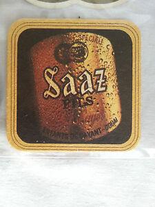 1 Sous-bocks bière Saaz - France - État : Occasion: Objet ayant été utilisé. Consulter la description du vendeur pour avoir plus de détails sur les éventuelles imperfections. ... - France