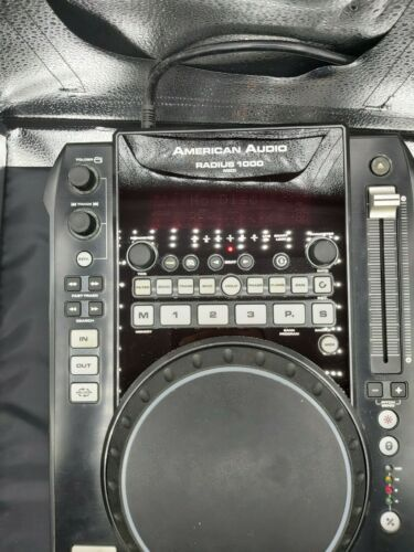 Dj cd player American Audio Radius 1000