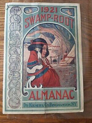 1921 Swamp root almanac