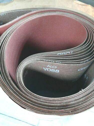 "9 Pack - ALO Open Coat Professional 120 Grit Sanding Belt 6 x 80"""