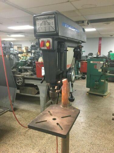 "Sears Craftsman 15-1/2"" Round Column Floor Model Drill Press"