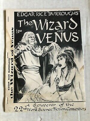 Fanzine THE WIZARD OF VENUS - Mike Royer 22nd World SciFi Convention