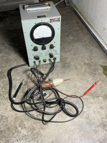Own a Piece of Gibson Guitar HISTORY! Vintage Kalamazoo Tube Multimeter 50
