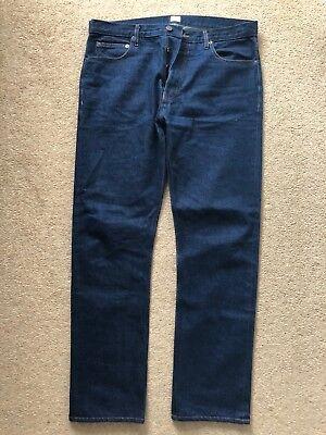 Sunspel Japanese Selvedge Denim Jeans W36 comprar usado  Enviando para Brazil
