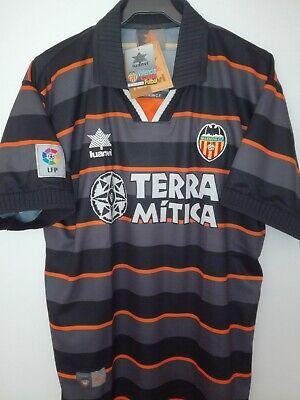 VALENCIA CF 1999-2000 BNWT Terra Mitica camiseta shirt trikot maillot maglia lu