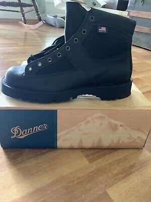 Danner Patrol 6in Size 9.5M Mens Black Leather Goretex Uniform Boots 25200 Danner Mens Uniform Boots
