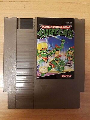 TMNT -- NES Nintendo Original Game Teenage Mutant Ninja Turtles CLEAN TESTED