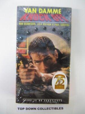 Knock Off Van Damme  Rob Schneider, Lela Rochon   VHS Movie   New