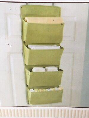 Closet Organizer Green Nursery Storage Hanging Door Canvas Koala Baby Canvas Closet Organizers