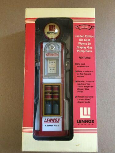 Lennox Limited Edition Die Cast Wayne 60 Display Gas Pump Bank Replica