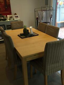 6 9 Seater Dining Room Table And Chairs
