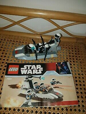 LEGO 7668 star wars  rebel speeder
