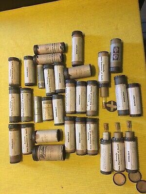 Vintage Medical Lab Testing Mailing Specimen Tube Lab Tubes Syphilis Test (1) Ea