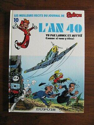 l'an 40 1 eo -- les meilleurs récits du journal spirou -- laudec & mittéï