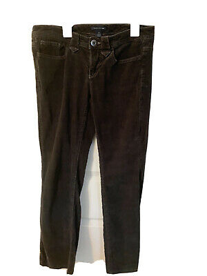 Tommy Hilfiger Women's Size 4 Dark Gray Corduroy Pants