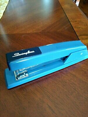 Vintage Mid-century Swingline 747 Rare Two Tone Stapler Made In Nyc
