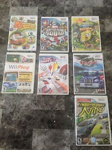 Wii games NEW PRICE
