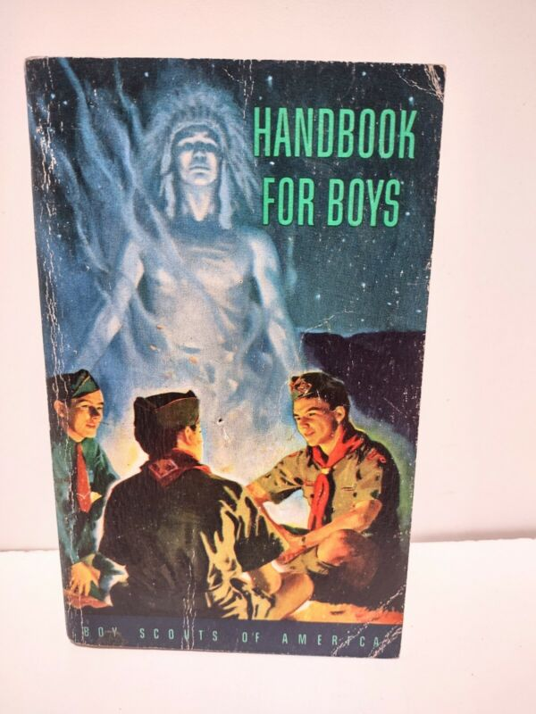 """Boy Scouts of America 1948 """"Handbook for Boys"""", Fifth Edition, 1952"""