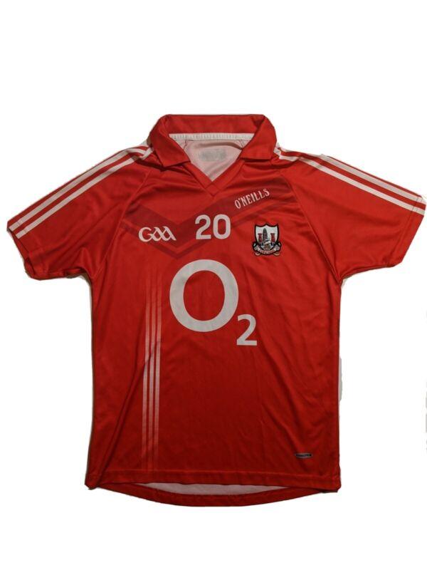 GAA Cork Corcaigh Gealic Hurling Shirt Jersey O