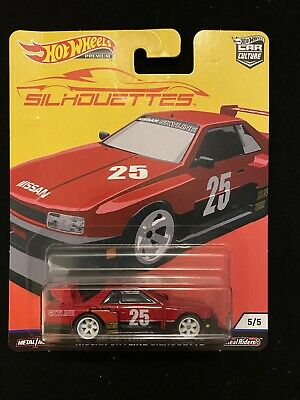 2019 Hot Wheels Car Cultures Silhouettes Nissan Skyline Real Riders New