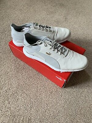 Puma Golf Mens Ignite Spikeless Lux Waterproof Leather Golf Shoes