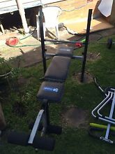 Multi-station weight bench Pendle Hill Parramatta Area Preview