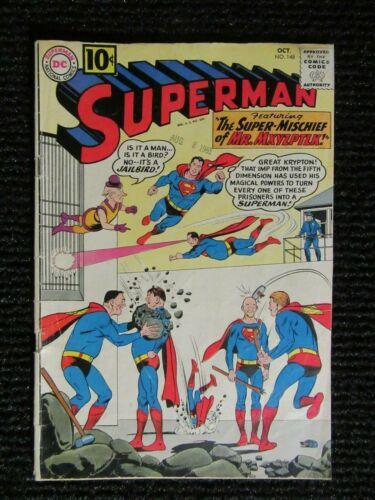 Superman #148  Oct 1961  Mr. Mxyzptlk!!  Complete Copy!!