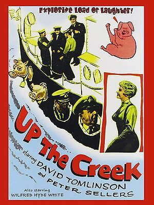 "Up the Creek 16"" x 12"" Reproduction Movie Poster Photograph"