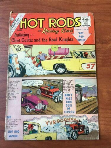 Hot Rods and Racing Cars #56 Charlton Comics 1962 GD