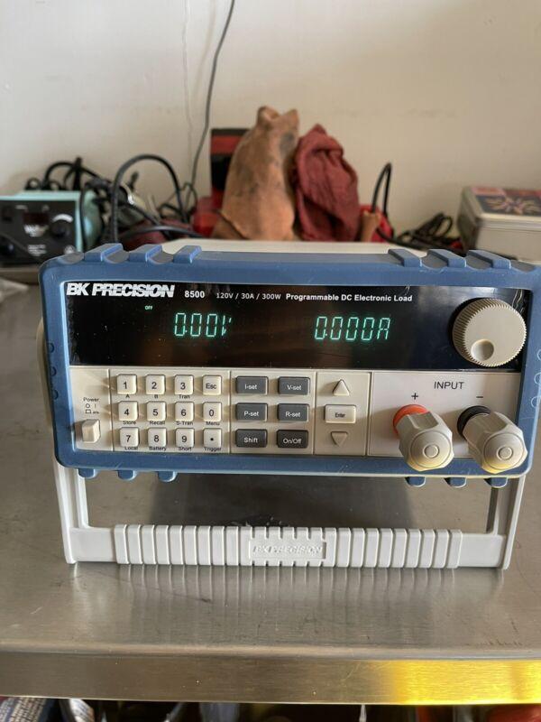 BK PRECISION 8500 PROGRAMMABLE DC ELECTRONIC LOAD 120V 30A 300W