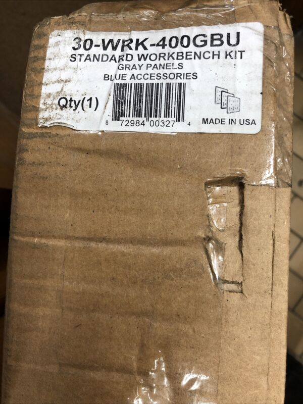 Wall Control 30-Piece Steel Pegboards Kit 30-WRK-400GBU Brand New