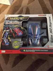 Double sided superior racer remote control flip over car