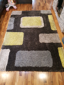 Shaggy rug (professionally cleaned) Kingsley Joondalup Area Preview