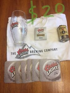 Coors Light Collectable set