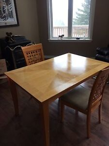 36x54 nice solid wood kitchen table
